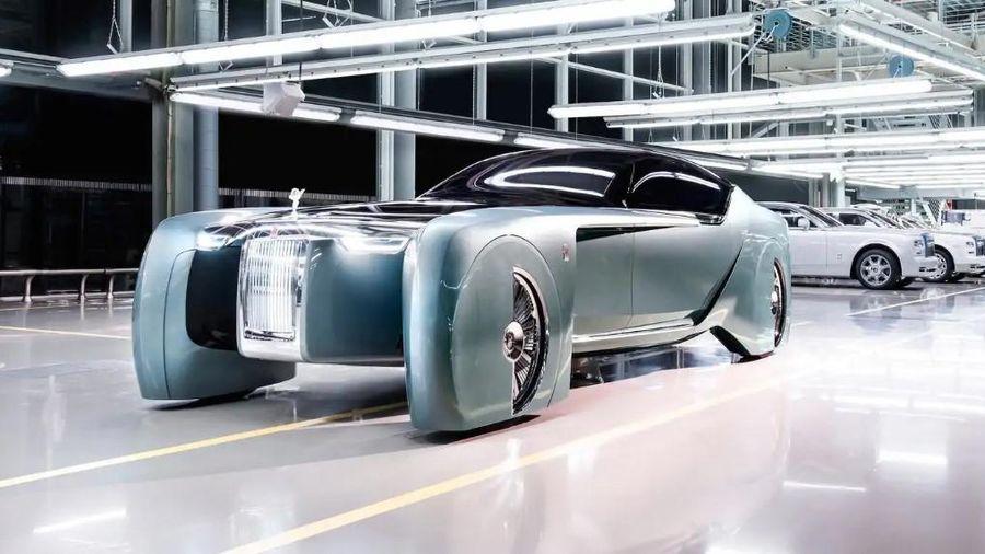 Rolls-Royce bỏ qua xe hybrid, trực tiếp làm xe điện siêu sang