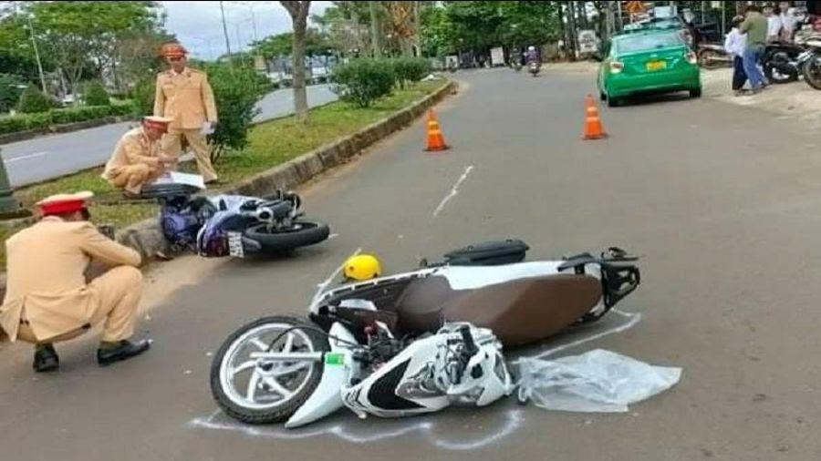 CSGT Đắk Nông triển khai thực hiện điều tra, giải quyết tai nạn giao thông trên Quốc lộ 14