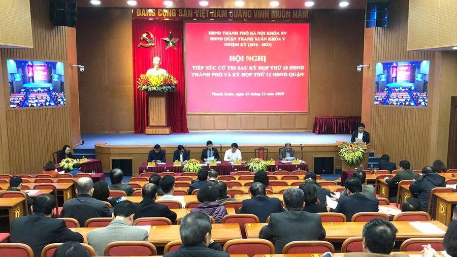 HĐND quận Thanh Xuân: Chú trọng bám sát thực tiễn
