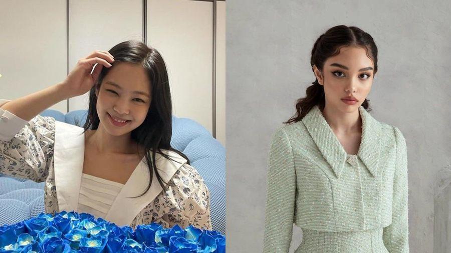 Ngạc nhiên chưa, fan Trung tặng Jennie váy của thương hiệu Việt và cực hợp dáng cô nàng