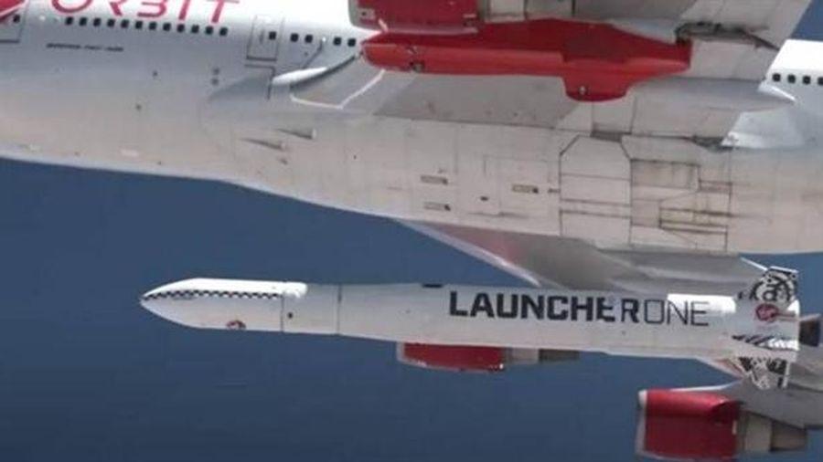 Tên lửa đẩy LauncherOne Mỹ lần đầu lên quỹ đạo định trước