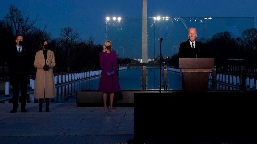 Tổng thống đắc cử Mỹ dự lễ tưởng niệm hơn 400 nghìn nạn nhân của Covid-19