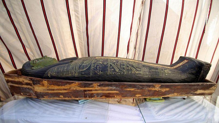 Ai Cập công bố đã tìm thấy quan tài 3.000 năm tuổi trong khám phá khảo cổ học mới nhất