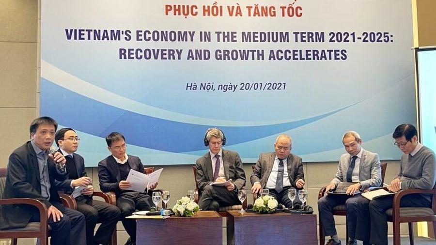 Giai đoạn 2021-2025, Việt Nam có thể tăng trưởng 6,3-6,8%/năm