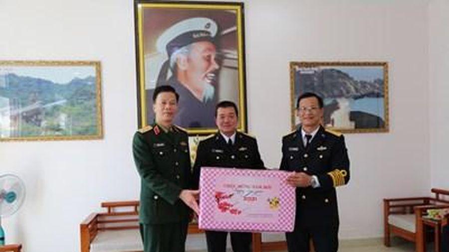 Trung tướng Nguyễn Trọng Bình thăm, kiểm tra Lữ đoàn 680 và Lữ đoàn 172