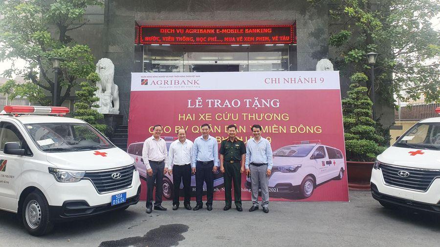Trao tặng 2 xe cứu thương cho Bệnh viện Quân Dân y miền Đông và Bệnh viện Quận 9