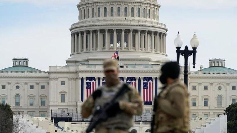 Washington 'căng như dây đàn' trong ngày chuyển giao quyền Tổng thống