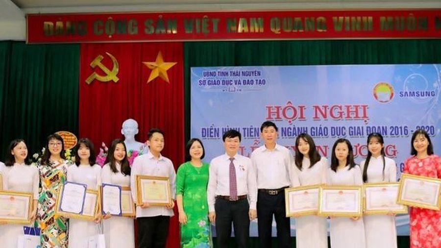 Thái Nguyên đạt 49 giải trong kỳ thi chọn học sinh giỏi quốc gia