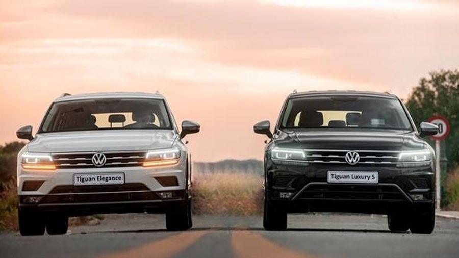 Ra mắt 2 phiên bản Tiguan nâng cấp 2021: Tiguan Luxury S và Tiguan Elegance