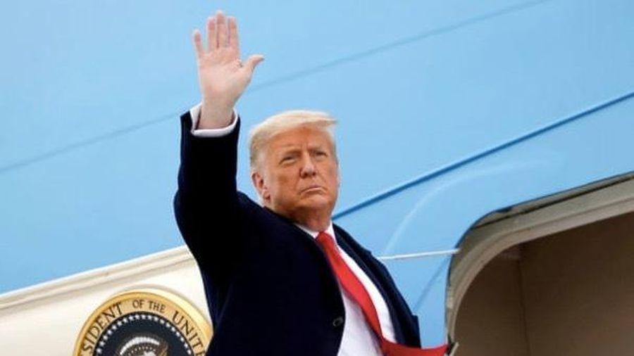 Ông Trump phát biểu chia tay, không nhắc tên người kế nhiệm