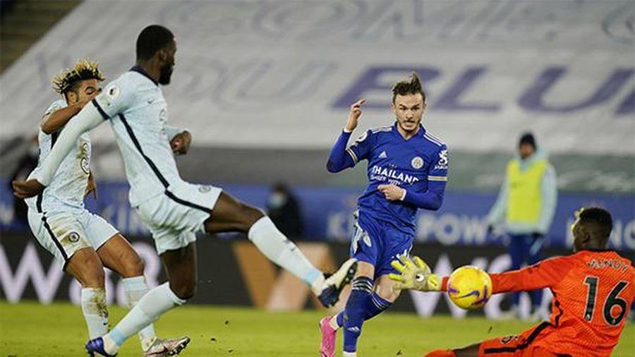 Đánh bại Chelsea, Leicester chiếm ngôi đầu bảng của M.U