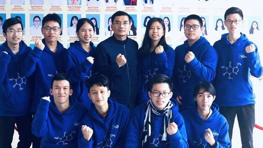 Thành tích đỉnh cao của đội tuyển Hóa học Hà Tĩnh trong kỳ thi học sinh giỏi quốc gia