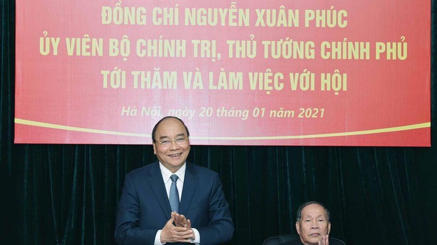 Thủ tướng làm việc với Hội nạn nhân chất độc da cam Việt Nam