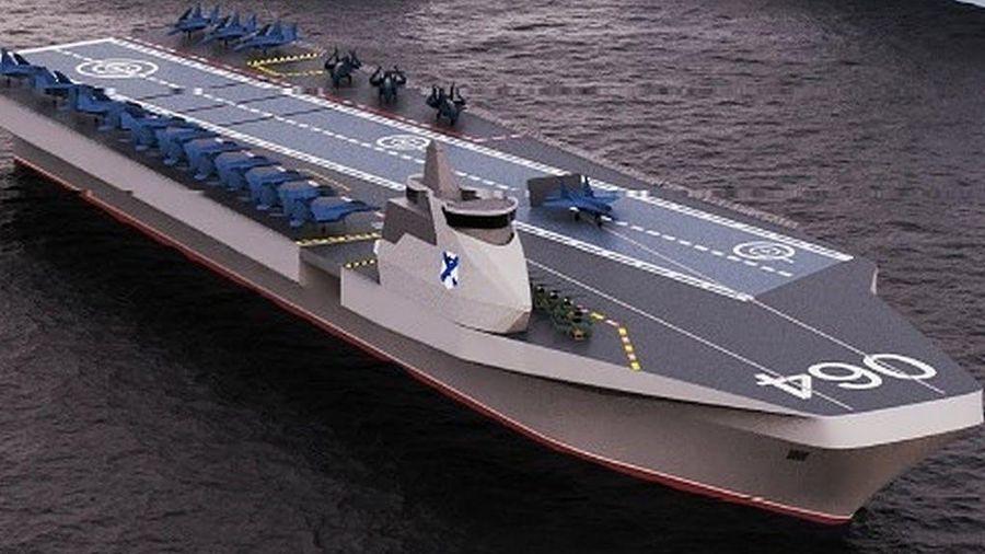 Phòng thiết kế Nevskoe đưa ra khái niệm tàu sân bay mới cho Hải quân Nga