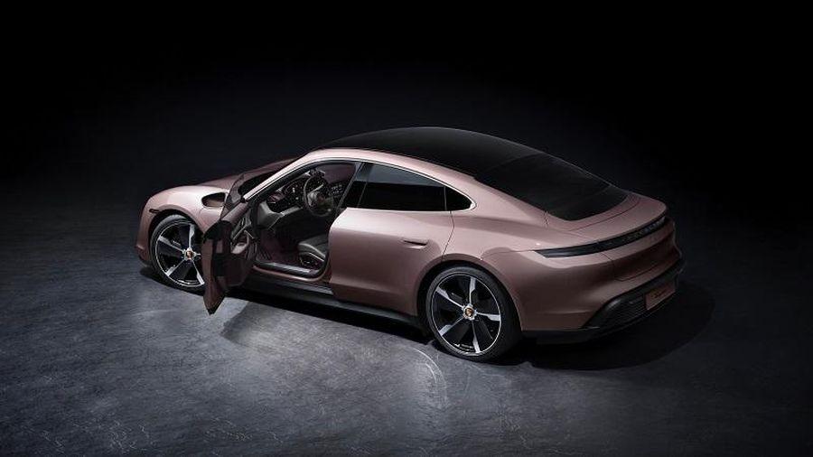 Porsche Taycan 2021 trình làng, chạy điện, dẫn động cầu sau, giá từ 1,85 tỷ đồng