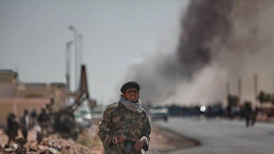 Hai máy bay không người lái bị bắn rơi ở Libya