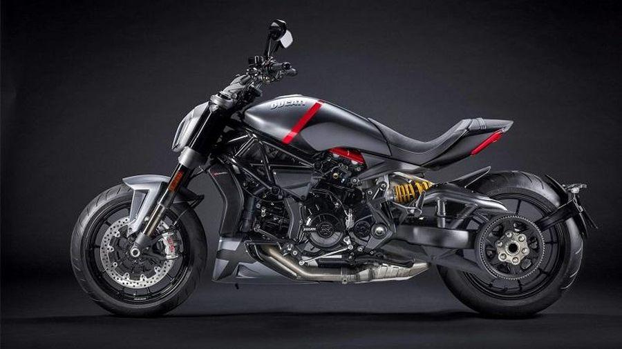 'Soi' mẫu Ducati XDiavel Black Star 2021 phong cách cruiser hầm hố
