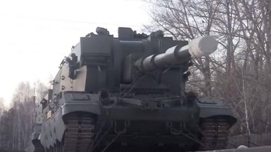 Một lô pháo tự hành 2S35 Koalitsiya-SV sẽ được gửi tới Quân khu phía Nam