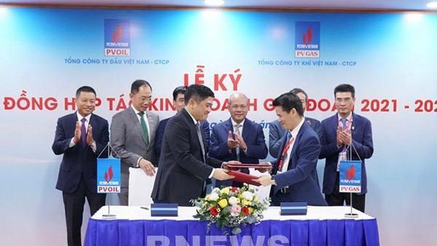 PV GAS ký kết hợp tác kinh doanh với PVOIL giai đoạn 2021-2025