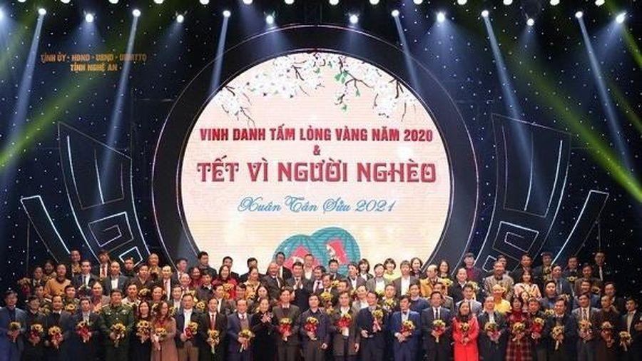 Nghệ An: Gần 89 tỷ đồng ủng hộ Tết vì người nghèo