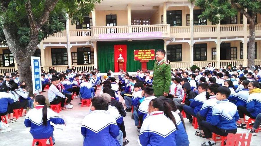 Tuổi trẻ Quảng Xương cam kết phòng, chống pháo nổ