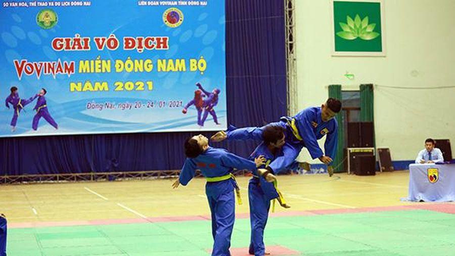Khai mạc Giải vô địch vovinam miền Đông Nam bộ năm 2021