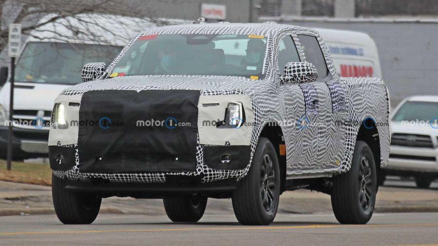 Rò rỉ hình ảnh Ford Ranger thế hệ mới