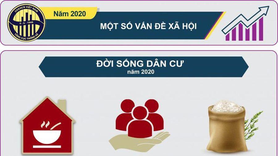 Infographic: Một số vấn đề xã hội năm 2020
