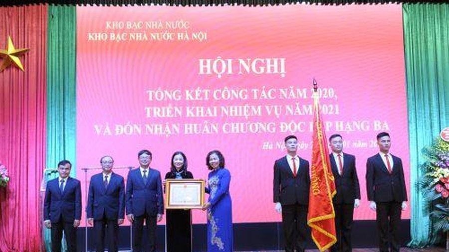 Kho bạc Hà Nội xứng danh với nhiệm vụ 'gác cổng' của ngân sách Thủ đô