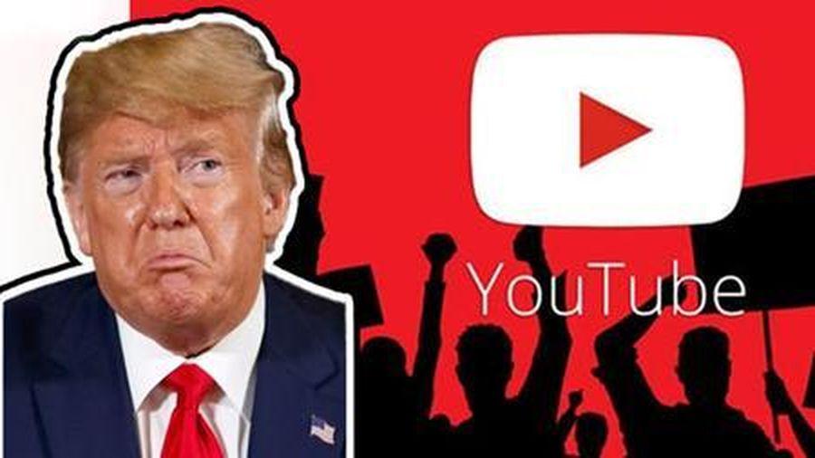 Tổng thống Trump bị Youtube cấm thêm 1 tuần