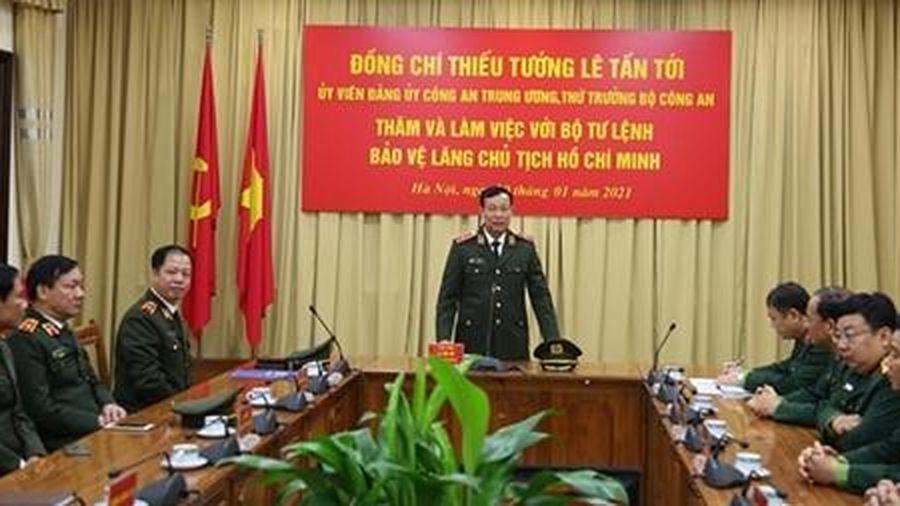 Đảm bảo an ninh, an toàn tuyệt đối tại khu vực Lăng Chủ tịch Hồ Chí Minh
