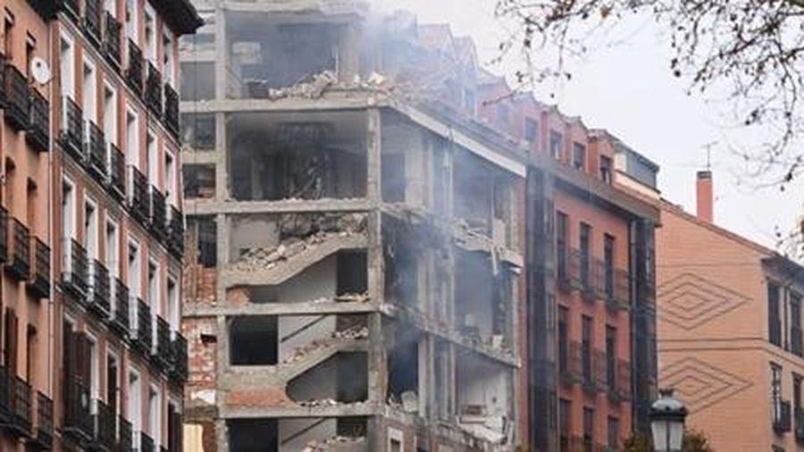 Nổ lớn ở Madrid, ít nhất hai người thiệt mạng