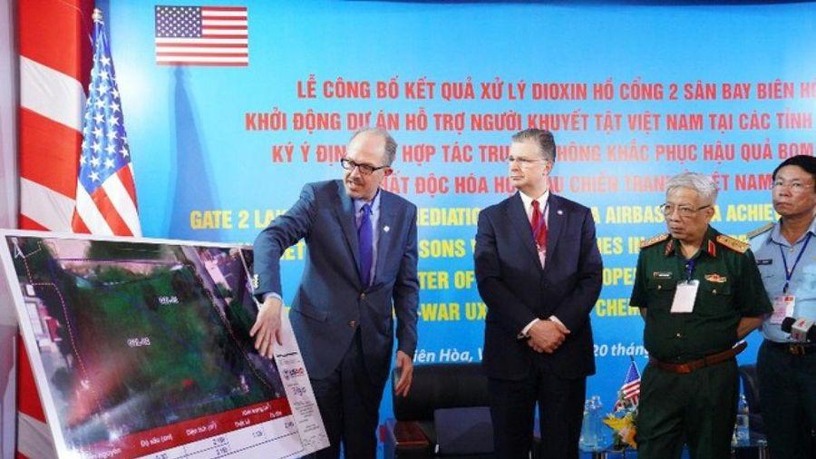 Công bố kết quả bước đầu dự án xử lý chất độc dioxin ở sân bay Biên Hòa