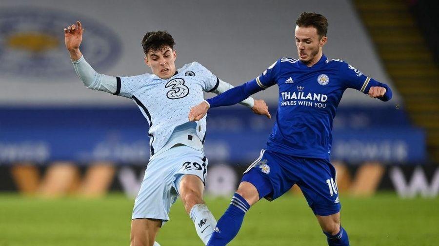 Đánh bại Chelsea, Leicester chiếm ngôi đầu Ngoại hạng Anh