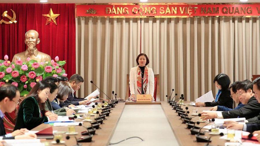Hội nghị góp ý vào dự thảo Chương trình số 04 của Thành ủy Hà Nội