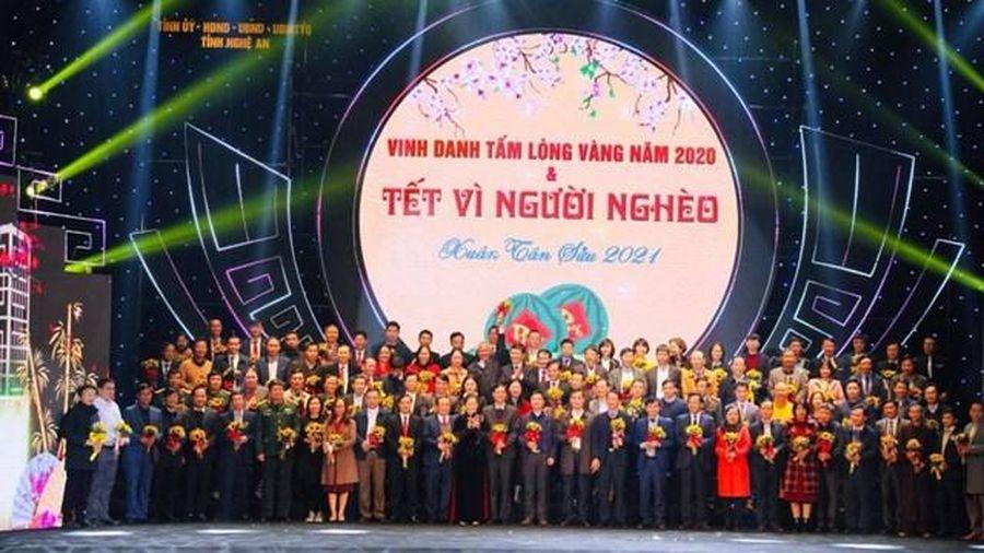 Nghệ An: Gần 89 tỷ đồng ủng hộ Tết Vì người nghèo Xuân Tân Sửu 2021