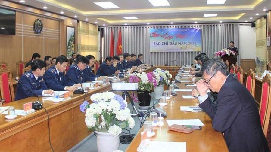 Quảng Nam: Cảnh sát biển gặp mặt báo chí đầu năm 2021