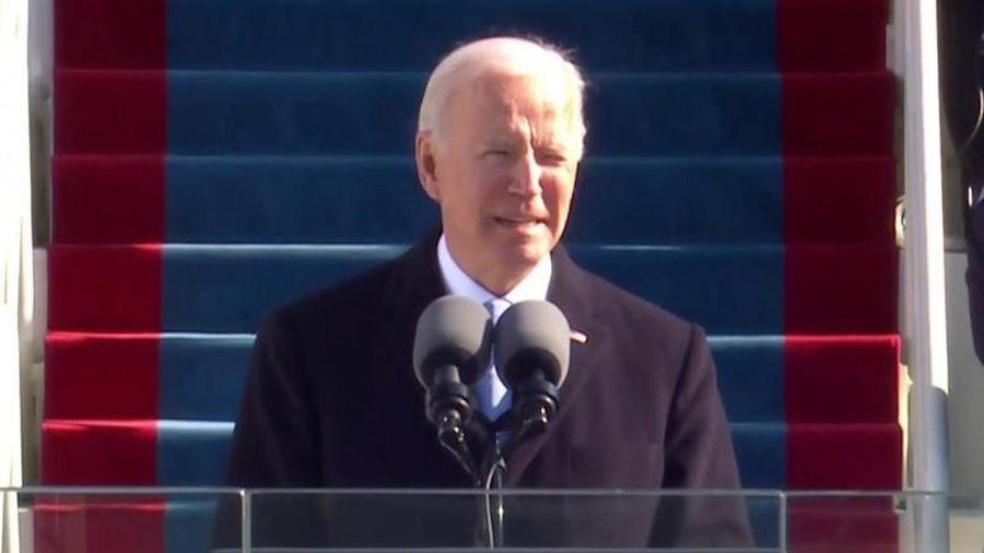 Bài phát biểu nhậm chức ấn tượng của ông Biden