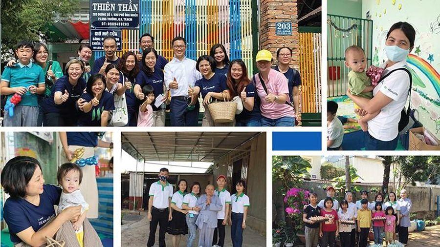 Manulife và đội ngũ toàn cầu cùng lan tỏa 'Điều tốt đẹp'