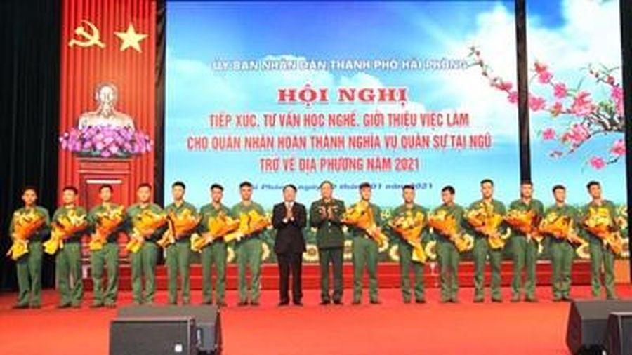 Hải Phòng: Tư vấn, giới thiệu việc làm cho quân nhân hoàn thành nghĩa vụ quân sự