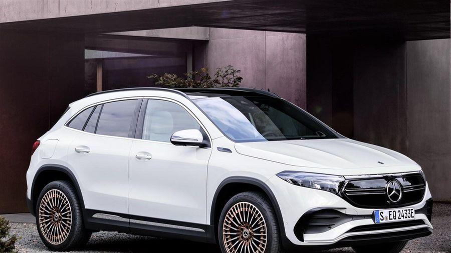 Mercedes EQA 250 được ra mắt - SUV thuần điện giá từ 46.647 USD