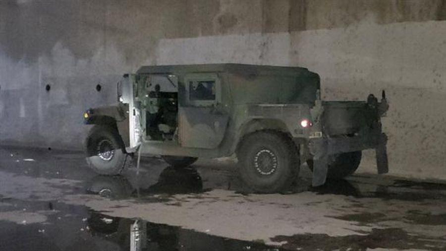 Vệ binh quốc giạ Mỹ tìm thất Humvee mất cắp