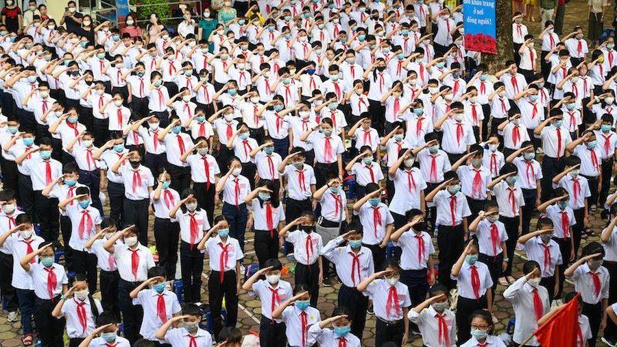 Hà Nội: 35,5% học sinh THCS đạt học sinh giỏi