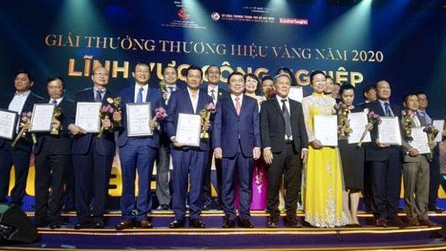 Tôn vinh 30 doanh nghiệp 'Thương hiệu Vàng TP HCM' năm 2020