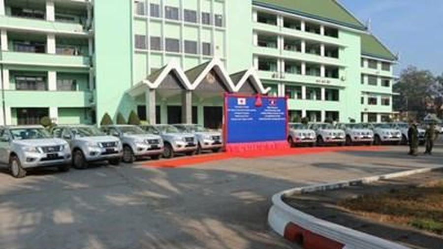 Nhật Bản hỗ trợ Lào tăng cường năng lực chống khủng bố