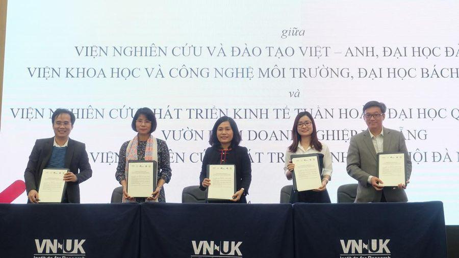 Ký kết hợp tác nghiên cứu về Kinh tế Tuần hoàn tại Việt Nam