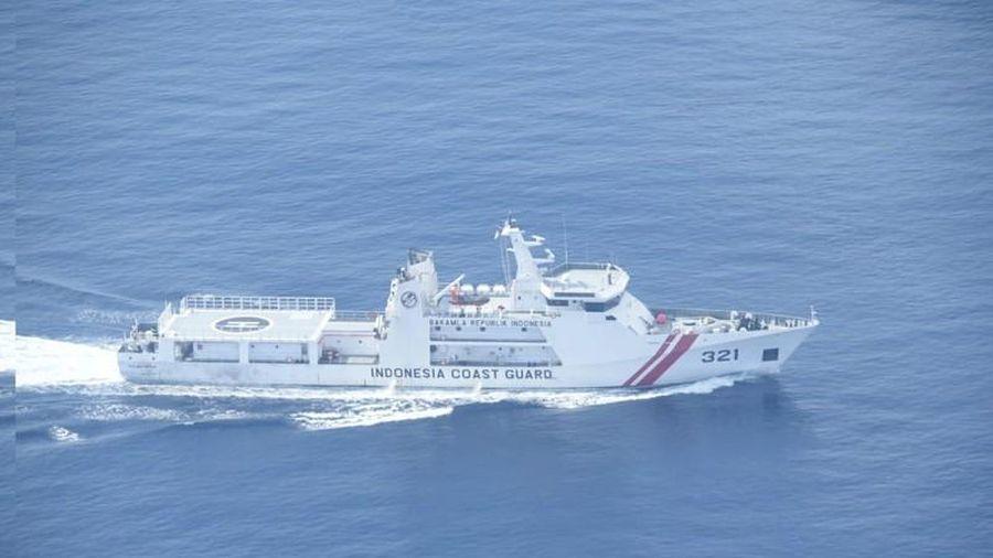 Indonesia bất ngờ phát hiện tàu khảo sát Trung Quốc 'đi lạc'