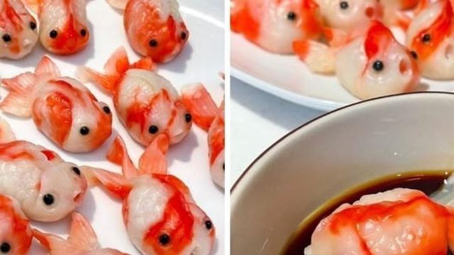 Bánh bao hình cá độc lạ gây bão mạng xã hội