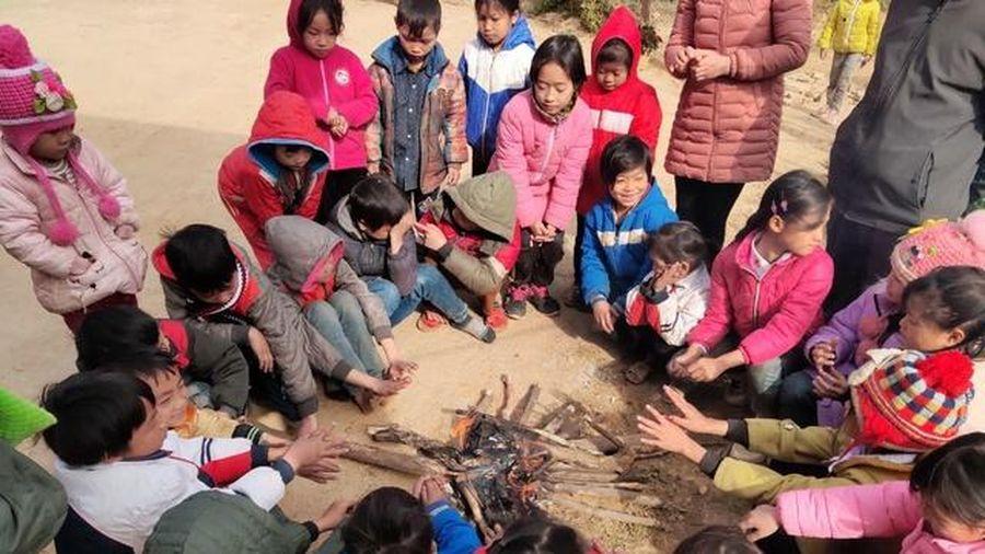 Bắc Kạn: HS trường Phổ thông dân tộc nội trú được chăm lo chống rét