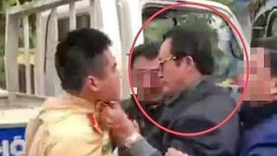 Vụ Chi cục trưởng Dân số túm cổ áo CSGT: Ông Lại Quốc Đạt từng xin nghỉ hưu sớm